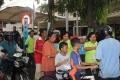 Pembagian Takjil gratis di Kab Kediri, 7 juni 2017